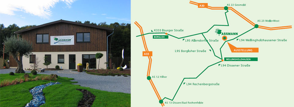 Assmann Gartengestaltung Landschaftsgestaltung Baumschule Melle